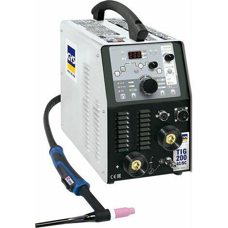 Poste de soudure monophase GYSMI TIG 207 AC/DC HF 5-160 A -courant continu 10-200A