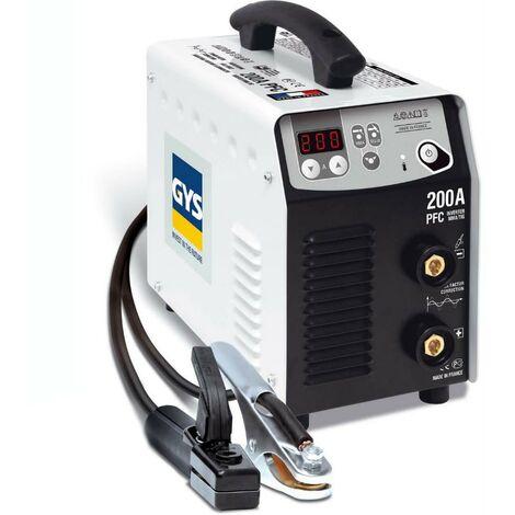 Poste de soudure Progys 200A PFC - en valise avec porte-électrode et pince de masse - 031432