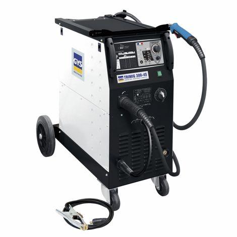 Poste de soudure semi-automatique TRIMIG 300-4S avec accessoires GYS