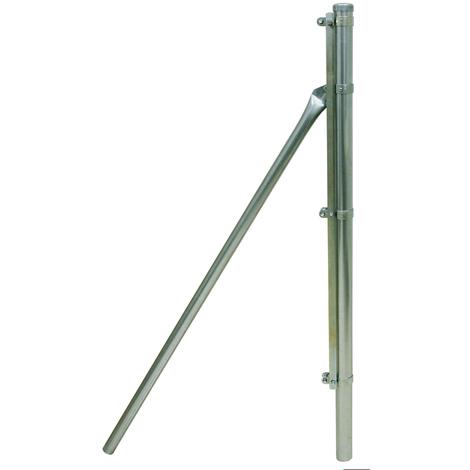 Poste Extremo Galvanizado 48mm - IMECA - C/ACCESORIOS - 1 M