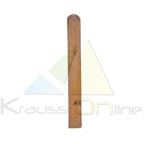 Poste para valla de madera clásica