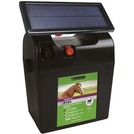 Poste pile PADDOCK P180 avec panneau solaire BEAUMONT