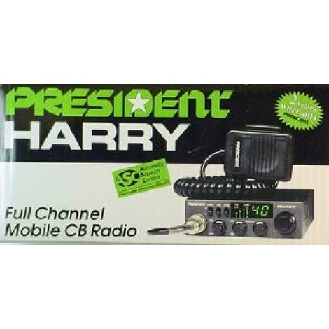 Poste Radio CB President TXMU668 Harry 3 multinorme