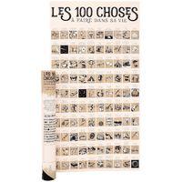 Poster à gratter Les 100 choses à faire dans sa vie