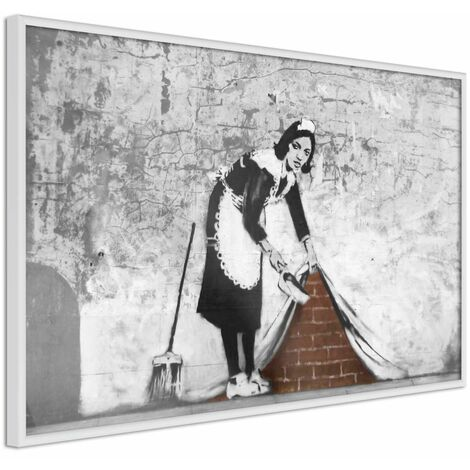 """main image of """"Póster - Banksy: Sweep it Under the Carpet"""""""