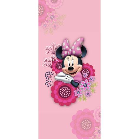 Poster de porte intissé - Disney Minnie Mouse - 90 cm x 202 cm