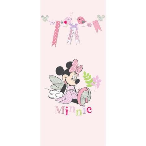 Poster de porte Intissé - Disney Minnie Mouse - modèle Minnie en fée - 90 cm x 202 cm