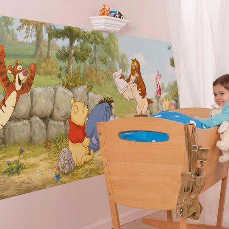 Poster géant Winnie Première Leçon Disney