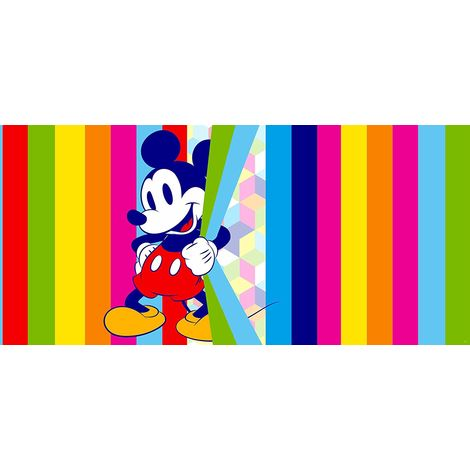 Poster horizontal Mickey Mouse Pop de Disney intisse 202CM X 90CM