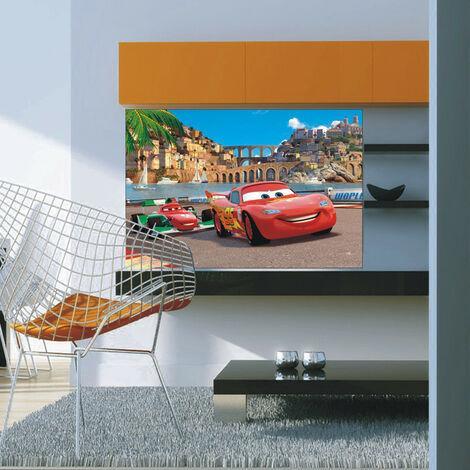 Poster initisse XXL Cars 2 à Rome Disney 160X115 CM