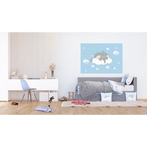 Poster Intissé - Disney Dumbo - 160 cm x 110 cm