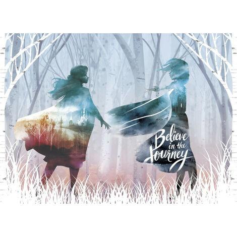 Poster Intissé - Disney La Reine des Neiges 2 - modèle Believe in the journey 160 cm x 110 cm