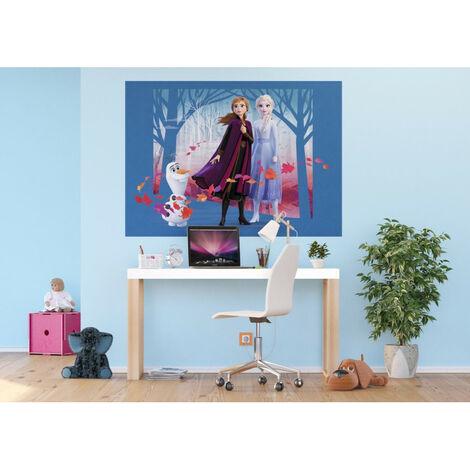Poster Intissé - Disney La Reine des Neiges 2 - modèle Vent d'automne 160 cm x 110 cm