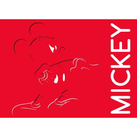 Poster Intissé - Disney Mickey Mouse - 160 cm x 110 cm