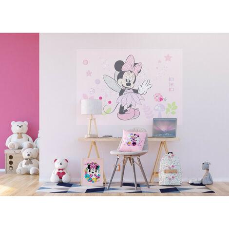 Poster Intissé - Disney Minnie Mouse - 160 cm x 110 cm