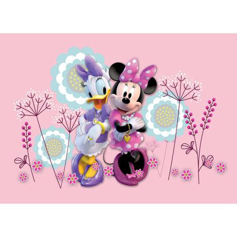 Poster Intissé - Disney Minnie Mouse et Daisy Duck - 160 cm x 110 cm