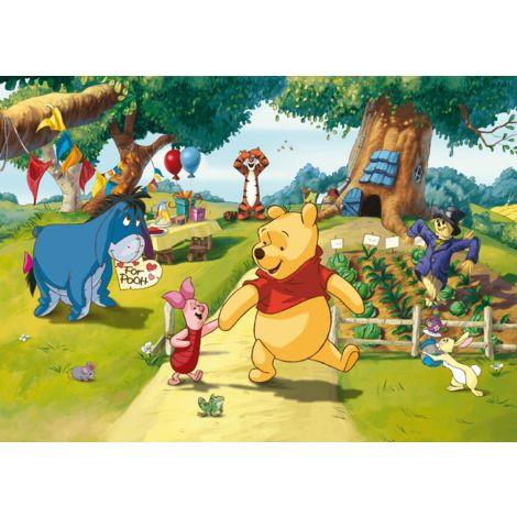 Poster Intissé XXL - Winnie l'ourson Disney - 255 cm x 180 cm
