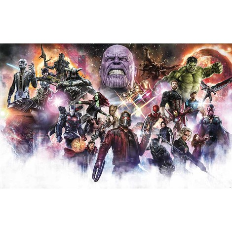 Poster Mural Xxl Avengers Infinity Final Round Multicouleur 045 Dvd4