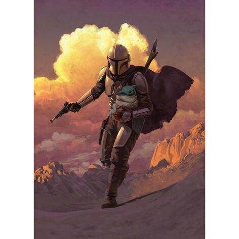 Poster XXL - impression numérique - Mandalorian Escape - 200 cm - 280 cm