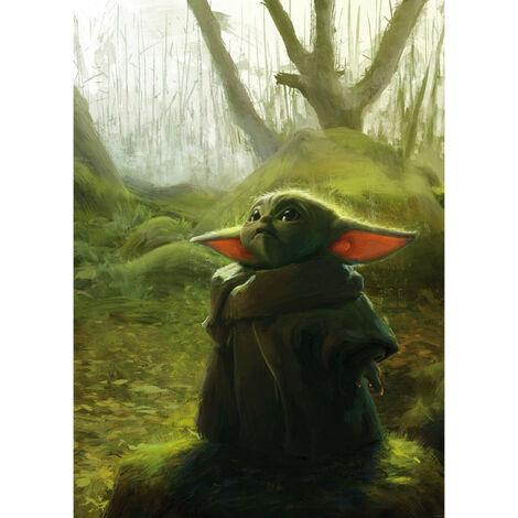 Poster XXL - impression numérique - Mandalorian Grogu Acrylic - 200 cm - 280 cm