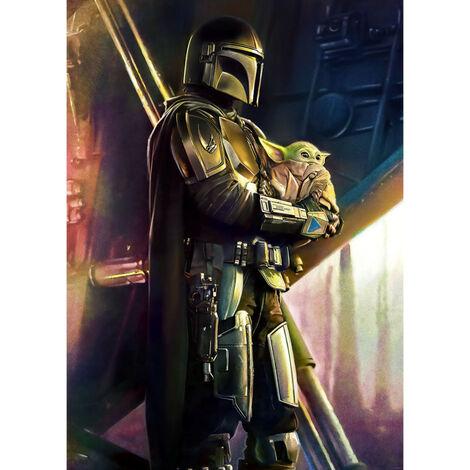 Poster XXL - impression numérique - Mandalorian Savior - 200 cm - 280 cm