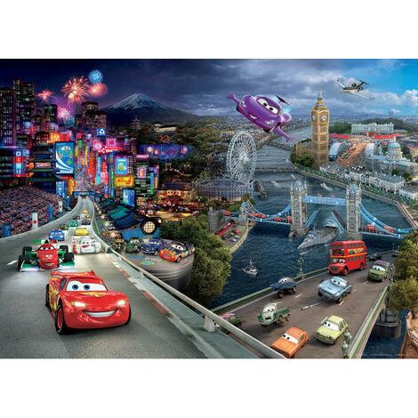 Poster XXL intisse Cars 2 Disney 160X115 CM