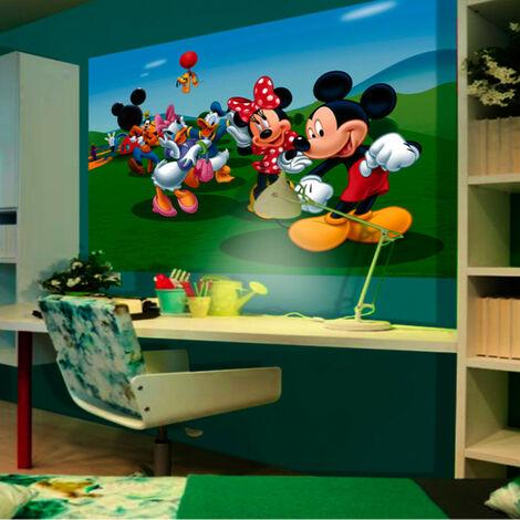 Poster XXL intisse La Maison de Mickey Disney 160X115 CM