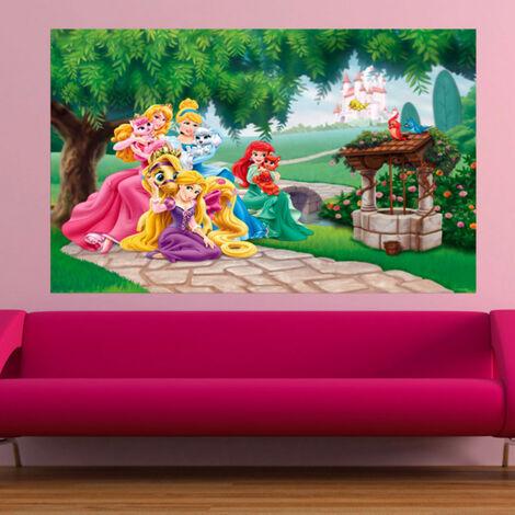 Poster XXL intisse Palace Pets Princesse Disney 160X115 CM