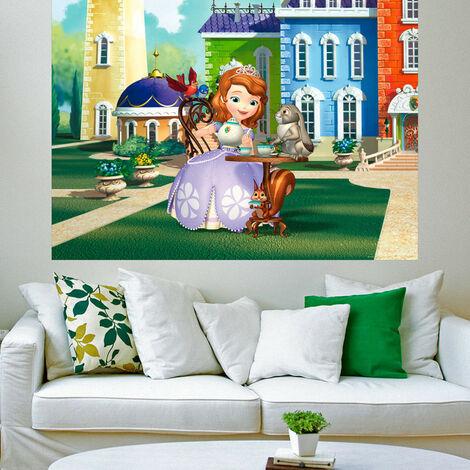 Poster XXL intisse Princesse Sofia Disney 160X115 CM