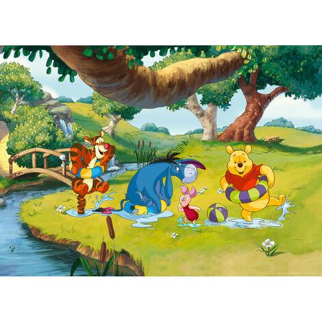 Poster XXL intisse Winnie l'Ourson Disney 160X115 CM