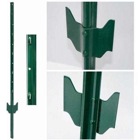 Postes para vallas mallas de alambre 105cm