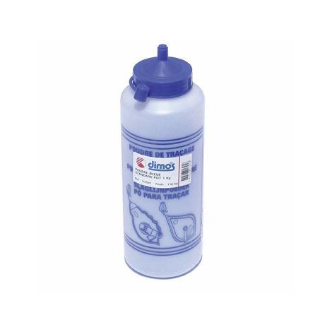 Pot 1 Kg de poudre bleue standard DIMOS - 155529