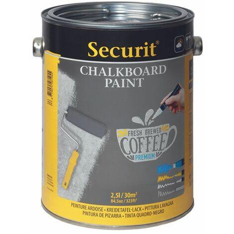 Pot de 2,5 l de peinture ardoise grise - Gris - 19 - Gris