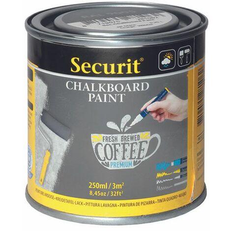 Pot de 250 ml de peinture ardoise grise - Gris - 7.5 - Gris