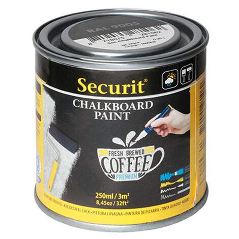 Pot de 250 ml de peinture ardoise noire - Noir - 7.5 - Noir