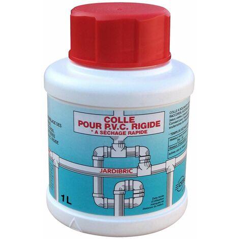 Pot de colle PVC, 500 ml colle à solvants pour assemblage de Tuyauteries, Raccords