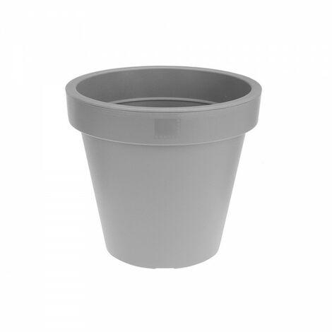 Pot de culture gris diam 20 cms.