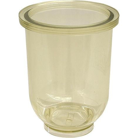 Pot de filtre en plastique (transparent)