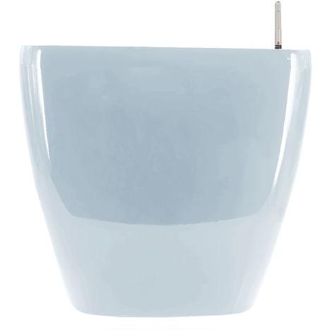 Pot De Fleur, Avec Arrosage Automatique, 28X28X26Cm, Bleu