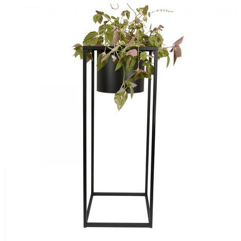 Pot de fleur Hannu Noir en métal