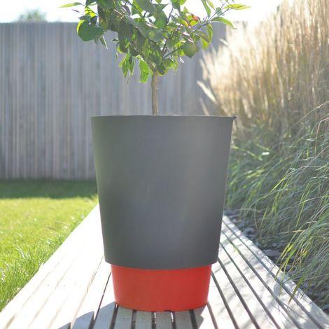 Pot de fleur Pied à terre 50L - Couleur - Rouge