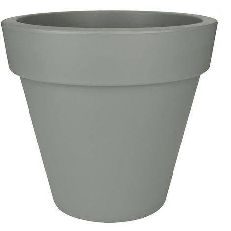 2 x Bell pot 44 cm Rond Jardiniere Terre Cuite Jardin Plante Pots Patio Fleur Plante