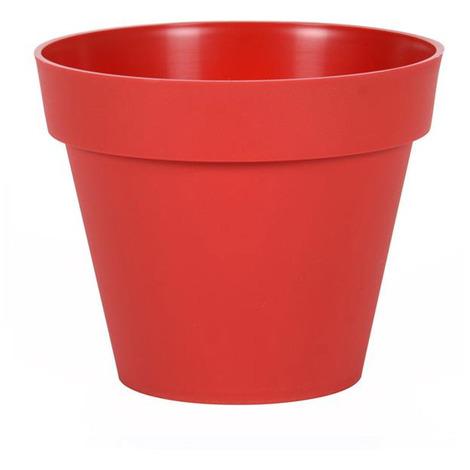 Pot de fleur Toscane Ø 20 x 17 cm - 3 L - Rouge Rubis