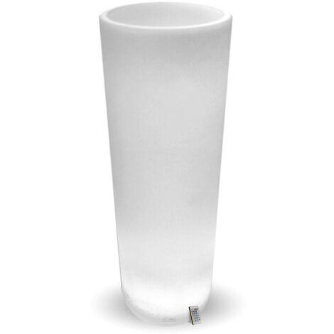 Pot de Fleurs Cylindrique Rechargeable Extérieur 115 cm