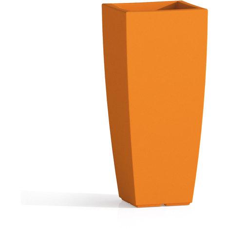 Plus adapté Pot de Fleurs Agave en Résine Carré 33x33 CM H70 Orange - 007-000002 UJ-05