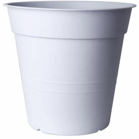 Pot de fleurs - FLY - D 40 cm - Blanc - Livraison gratuite