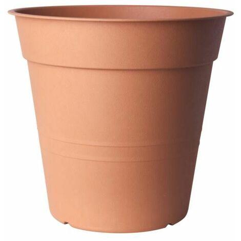 Pot de fleurs - FLY - D 40 cm - Terracotta claire - Livraison gratuite