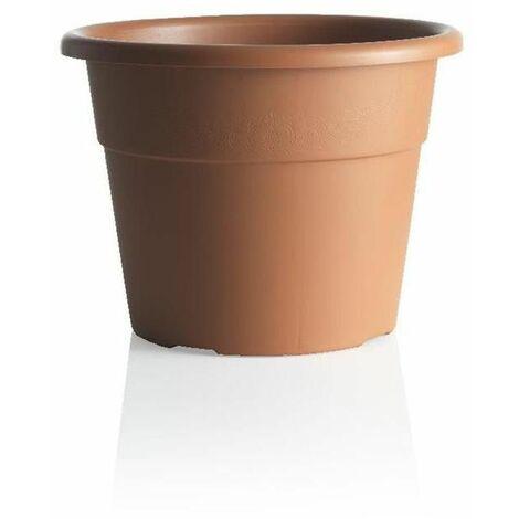 Pot de fleurs - HEDERA - D 40 cm - Terracotta - Livraison gratuite