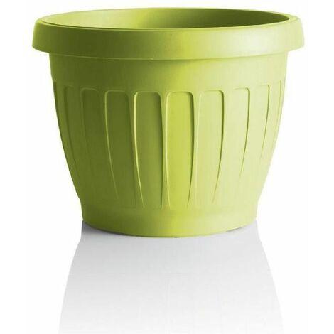 Pot de fleurs - TERRA - D 40 cm - Jaune - Livraison gratuite