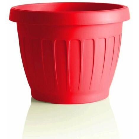 Pot de fleurs - TERRA - D 40 cm - Rouge - Livraison gratuite